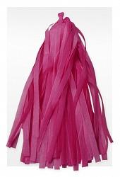 Гирлянда Тассел, Розовая, 3 м, 12 Кисточек