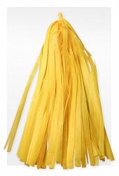 Гирлянда Тассел, Желтая, 3 м, 12 Кисточек