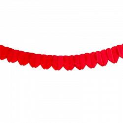 Гирлянда Сердца, красный, 2,5м