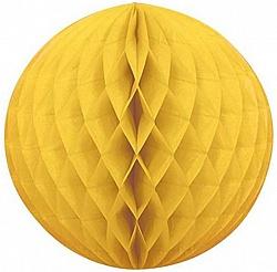Шар бумажный Желтый (10»/25 см)