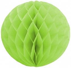 Шар бумажный Зеленый (10″/25 см)
