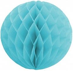 Шар бумажный Голубой (10″/25 см)