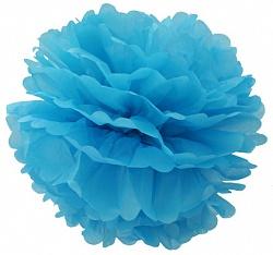 Помпон Голубой (12»/30 см)