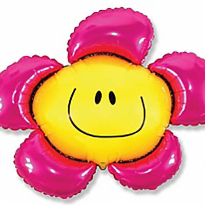 Шар Солнечная улыбка, Фуше (41»/104 см)