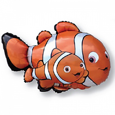 Шар Рыба-клоун Немо, Оранжевый (36»/91 см)