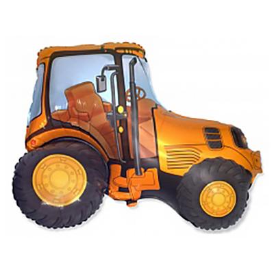 Трактор, Оранжевый, (38″/97 см)