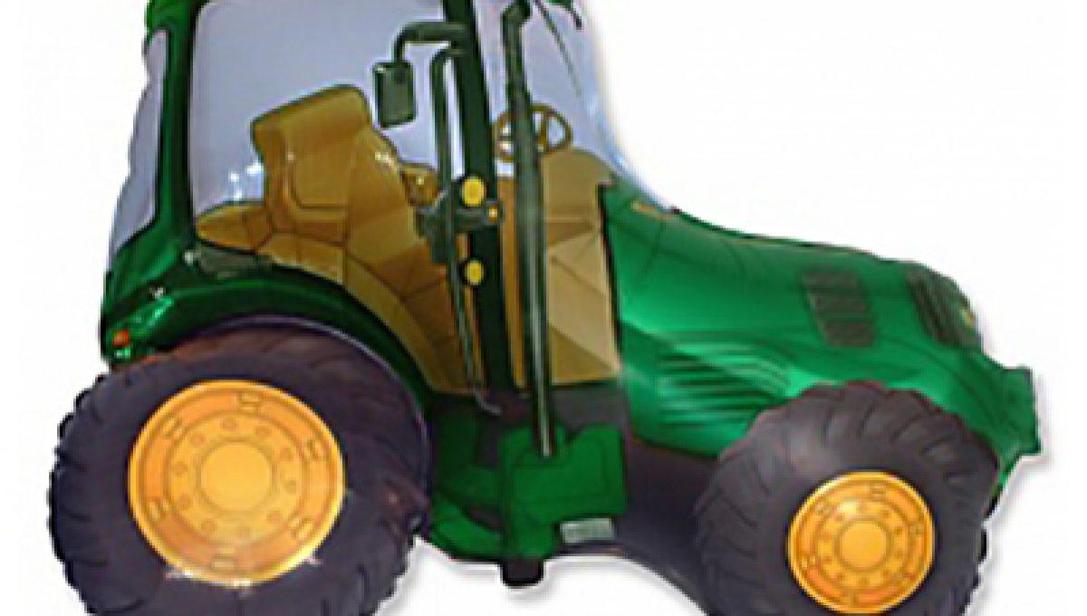 Трактор зеленый, (38″/97 см)