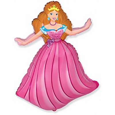 Шар Принцесса, Розовый (32»/81 см)