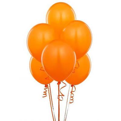 """Оранжевое облако. 20шт. 12""""/30см"""