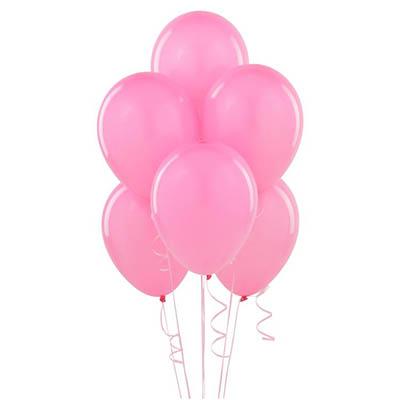 """Розовое облако. 20 шт. 12""""/30см"""