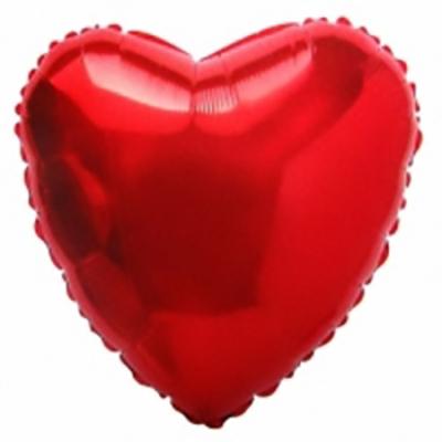 Шар Сердце, Красный (18»/46 см)