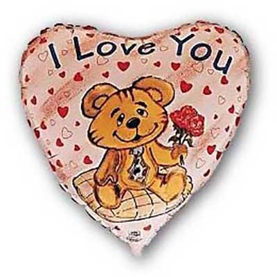 Сердце, Влюбленный медведь (18″/46 см)