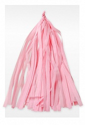 Гирлянда Тассел, Светло-розовая, 3 м, 12 Кисточек