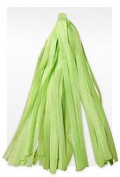 Гирлянда Тассел, Светло-зеленая, 3 м, 12 Кисточек