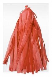 Гирлянда Тассел, Оранжевая, 12 кисточек.