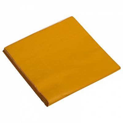 Салфетки однотонные, оранжевый, 32х32см, 20шт
