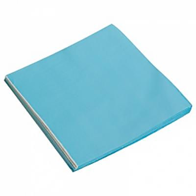 Салфетки однотонные, голубой, 32х32см, 20шт