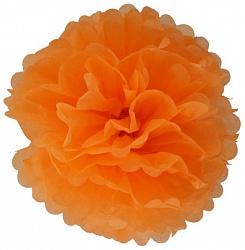 Помпон Оранжевый (12»/30 см)