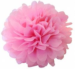 Помпон Розовый (12»/30 см)