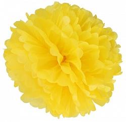 Помпон Желтый (12»/30 см)