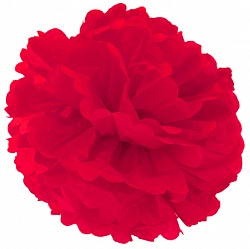 Помпон Красный (12»/30 см)