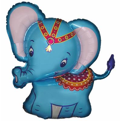 Слоненок Синий, (38″/97 см)