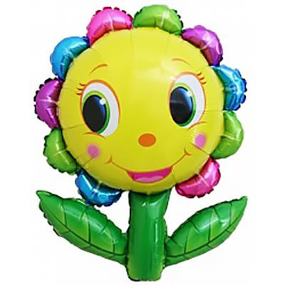 Шар (34»/86 см) Фигура, Цветок улыбка